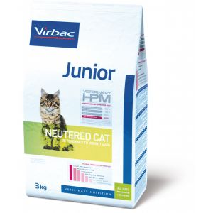 Virbac Junior Cat Neutered - Sac de 3 kg
