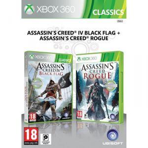 Assassin's Creed IV : Black Flag + Assassin's Creed : Rogue [XBOX360]