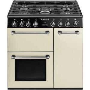 Smeg BM93 - Piano de cuisson mixte 5 foyers gaz avec 3 fours électriques
