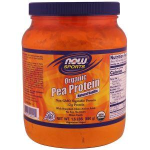 Now Foods Organic Pea Protein- Natural Vanilla (680 gram)