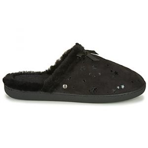 Isotoner Chaussons 97272 - Couleur 36,37,38,39,40,41 - Taille Noir