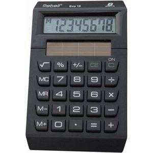 Rebell ECO10 - Calculatrice de bureau 8 chiffres