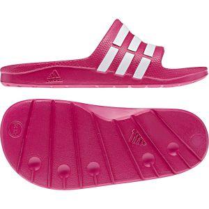 Adidas Duramo Slide K - Sandales natation - Enfant - Fuschia/Blanc - 36
