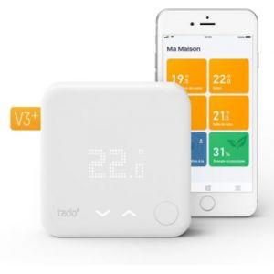 tado Thermostat connecté pour chaudière et PAC -Kit démarrage V3+