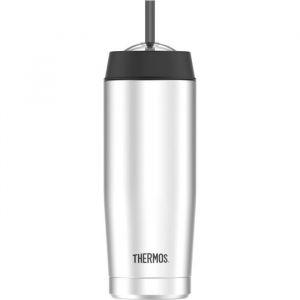 Thermos Tumbler Mug 0.53 L Inox - Straw
