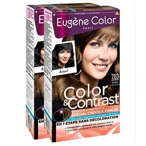 Eugène Color Coloration 7.03 praline - Color&Contrast