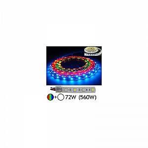Vision-El Bandeau LED Pro 72W (560W) IP67 (gaine silicone) RGB+Blanc jour