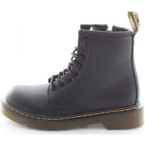 Dr. Martens Delaney, Boots mixte enfant - Noir (Black Softy T), 33 EU (1 UK)