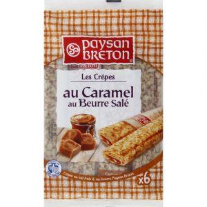 Paysan breton Crêpes fourrées caramel au beurre salé - Le paquet de 6