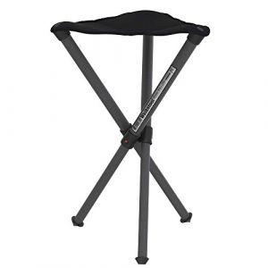 Walkstool Dreibeinhocker Basic - Chaise de camping taille 50 cm, noir