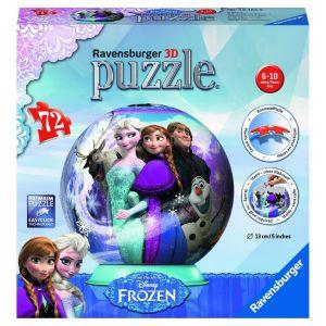 Ravensburger La Reine des Neiges 2 Puzzle 3D rond 72 pièces Illuminé