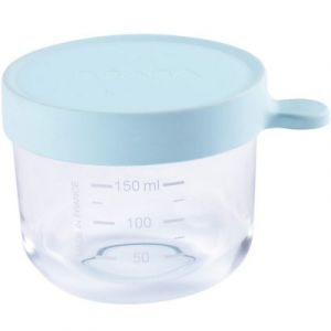 Beaba Portion Verre 150 ml - Light Blue