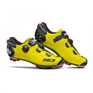 Sidi MTB Drako 2 SRS - Chaussures Homme - jaune/noir 42 Chaussures VTT à cales