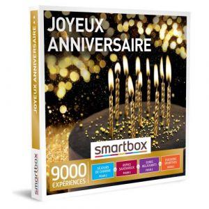 Smartbox Coffret cadeau Joyeux anniversaire