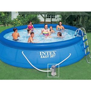 Intex 54908FR - Piscine hors sol Easy Set ronde Ø 457 x 107 cm