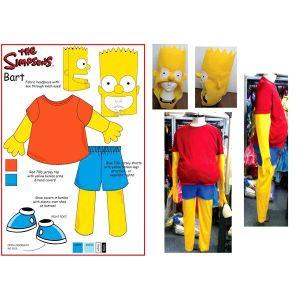 Rubie's Déguisement Bart Simpson homme (taille M)