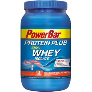 Powerbar Protein Plus 100% Whey Isolate Fraise/Fromage/Gâteau 570 g