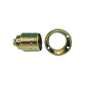 FP Douille ampoule E14, MetallAussengew.mantel m. (Par 10)