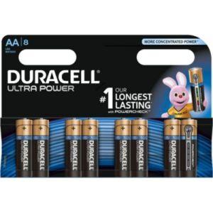 Image de Duracell 8 Piles Ultra Power AA