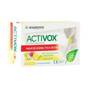 Arkopharma Activox - 24 comprimés à sucer au citron