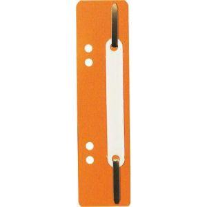 Exacompta 426009B - Fixe-dossier à lamelles, polypro, coloris orange