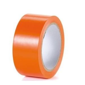Scotch PVC orange qualité standard largeur 75 mm longueur 33 m