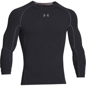 Under Armour Armour Hg T-Shirt manches longues de compression Homme Noir/Acier FR : XXL (Taille Fabricant : XXL)