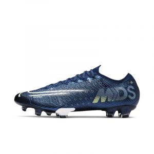 Nike Chaussure de football à crampons pour terrain sec Mercurial Vapor 13 Elite MDS FG - Bleu - Taille 43 - Unisex