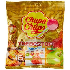 Chupa Chups Sucettes Lolly Pops 16 Sucettes 192 g