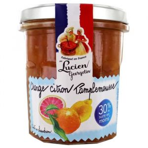 Lucien georgelin Confiture Extra Allégée d'Orange, Citron et Pamplemousse - 320 g