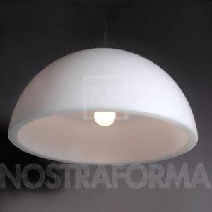 Slide Cupole - Suspension en matière plastique Ø120 cm