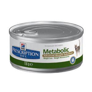 Hill's Prescription Diet Metabolic Feline - 24 boîtes 156 g