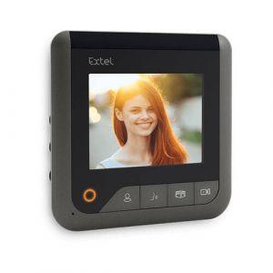 """Extel Moniteur 4"""" Visio+ 2 fils supplémentaires pour les visiophones Levo Access, Nova, Ice"""