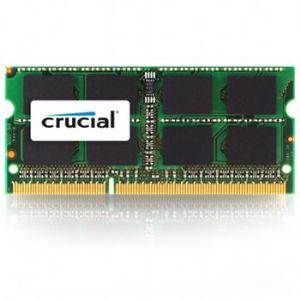 Crucial CT4G3S1067MCEU - Barrette mémoire 4 Go DDR3 1066 MHz SoDimm 204 broches pour Mac