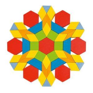Goki 58557 - Mosaïque formes géométriques Geo 250 éléments