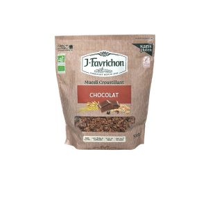 Favrichon Muesli croustillant Chocolat 500g