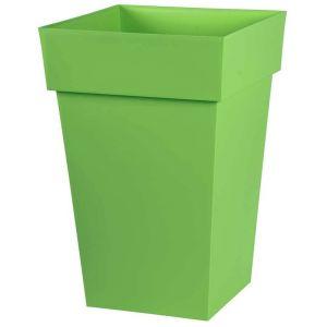 Eda Plastiques Pot toscane carre 51l vert matcha ref.13628 v.mc