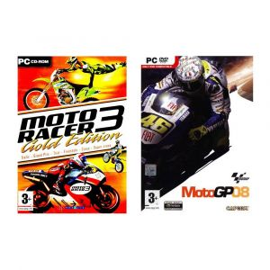 Pack 2 jeux : Moto Racer 3 + Moto GP 08 [PC]