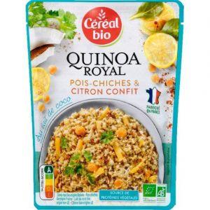 Céréal bio 220g quinoa royal coco citron