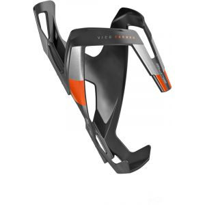 Elite Porte bidon Vico Carbono Noir-Orange 2018