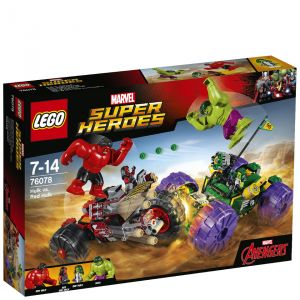 Lego 76078 - Marvel Super Heroes : Hulk contre Hulk Rouge