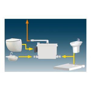 SFA Broyeur WC suspendu SANIPACK PRO UP