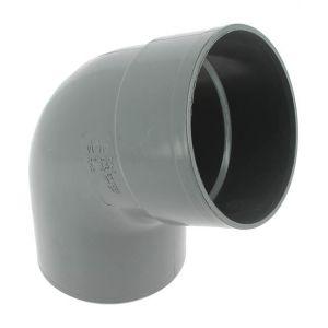 Adequa Coude PVC mâle-femelle 67°30 O110