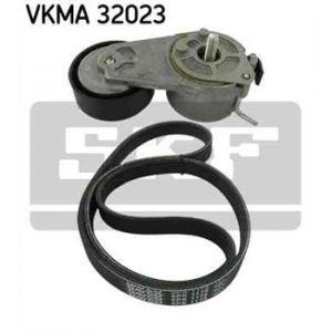 SKF Kit de courroies d'accessoires VKMA32023