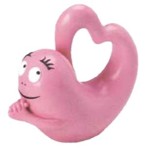 Plastoy Figurine Barbapapa en forme de coeur