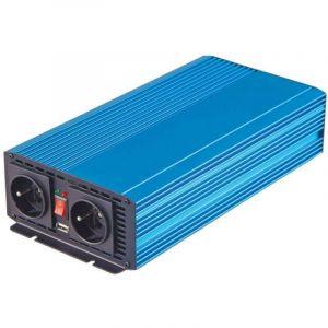 Convertisseur de courant 12V vers 220V 1000W - USB - Branchement Batterie