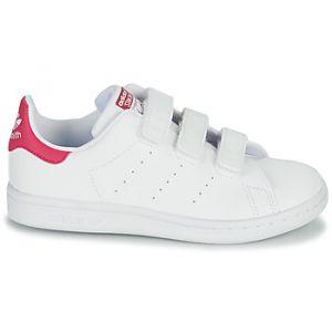Adidas Baskets basses enfant STAN SMITH CF C ECO-RESPONSABLE Blanc - Taille 28,29,30,31,32,33,34,35,30 1/2,28 1/2