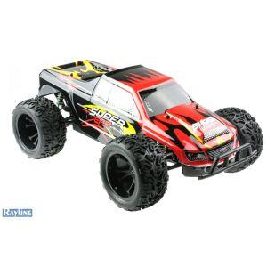 RayLine Monster Truck Funracer - Voiture radiocommandée 1:10