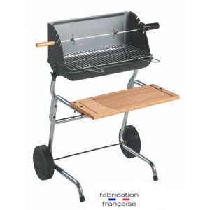 Invicta Victoria 814 - Barbecue bois et charbon avec tablette