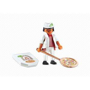 Playmobil 6392 City Life - Pizzaiolo avec pizza